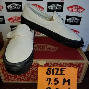 VANS SLIP ON 47 V DX SZ 7.5 MEN 9.0 WOMAN